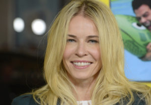 "Television personality Chelsea Handler attends the premiere of the film ""Movie 43"" in Los Angeles January 23, 2013. REUTERS/Phil McCarten (UNITED STATES - Tags: ENTERTAINMENT PROFILE) - RTR3CVI2"